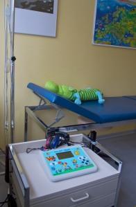 Hörtestgerät Kinderarztpraxis Dr. med. Petra Müller